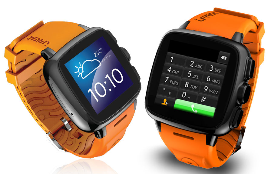 Intex iRist smartwatch with Android onboard, voice-calling ...