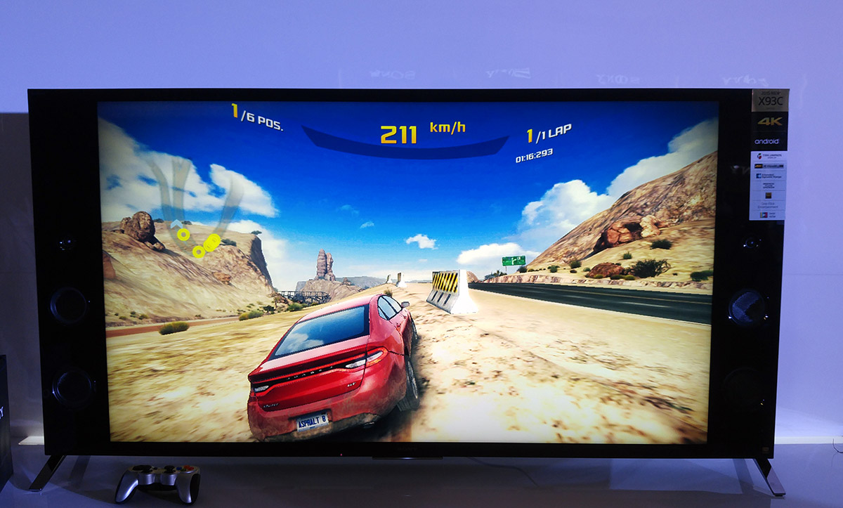 Sony Unveils 4k Android Tv Line Up Running Lollipop
