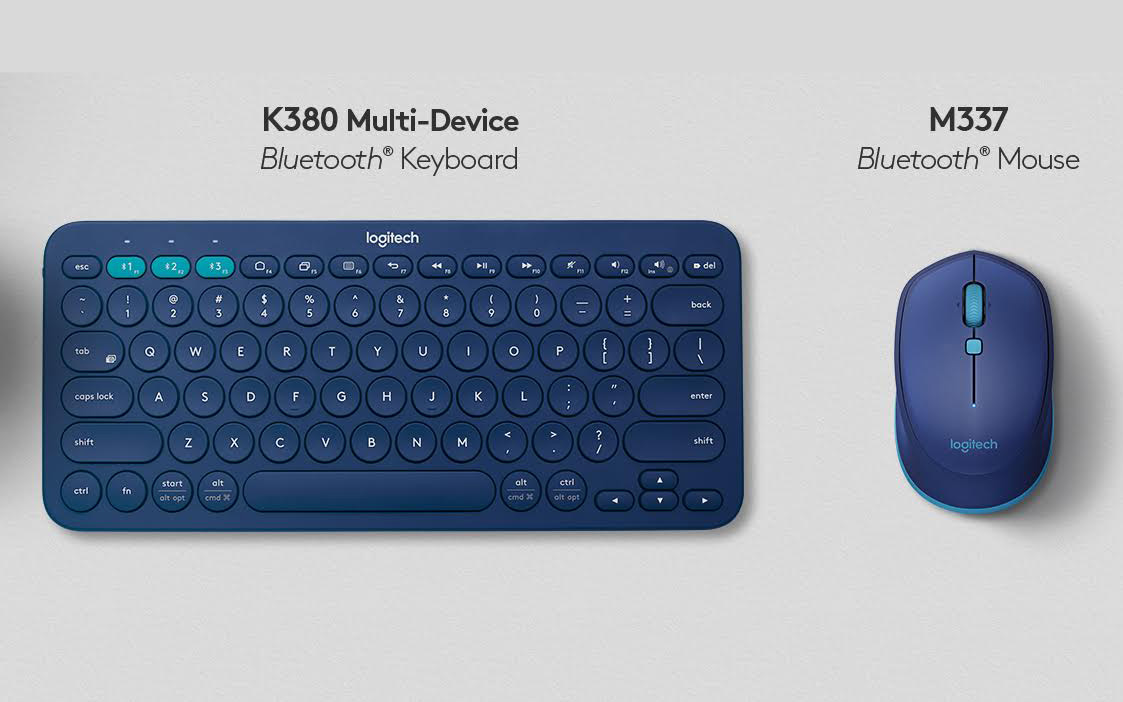 Logitech launches K380 multi-device Bluetooth keyboard, and M337