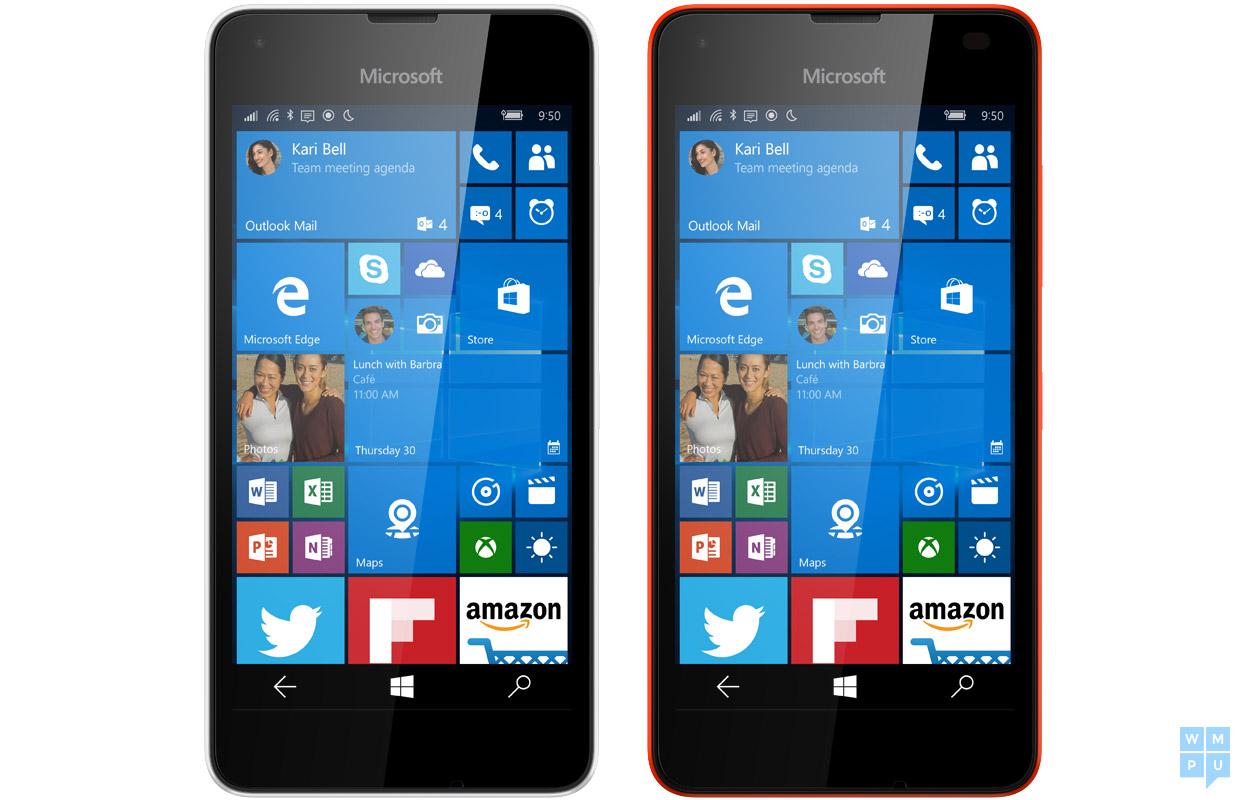 microsoft lumia 550 running windows 10 mobile leaks online. Black Bedroom Furniture Sets. Home Design Ideas