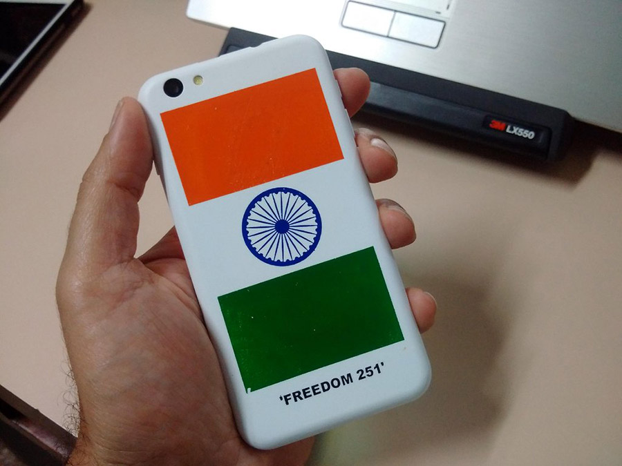 Freedom 251 Back Cover