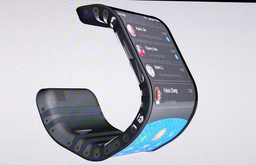 Lenovo Just Showcased A Foldable Phone At Tech World 2016