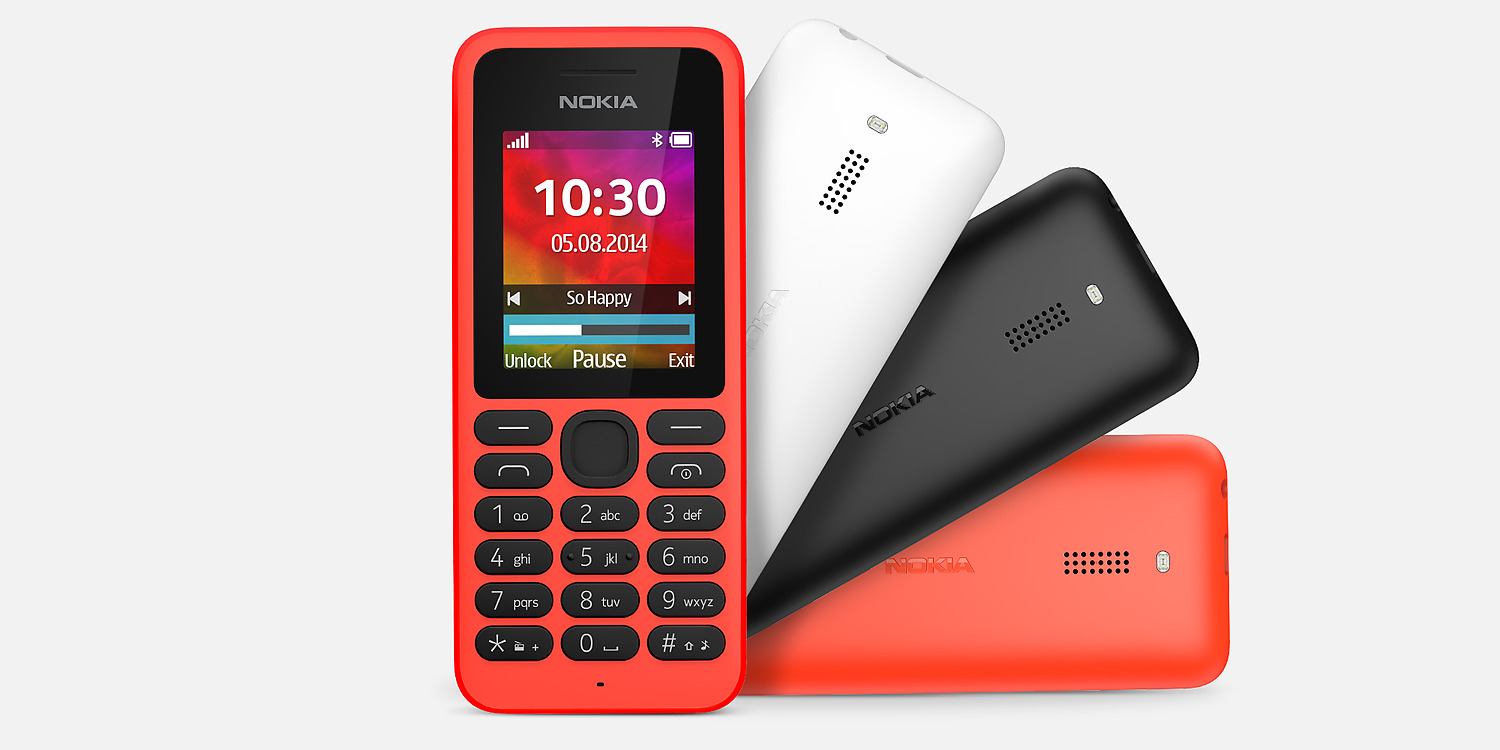Nokia will be making Feature Phones again as well, apart ...