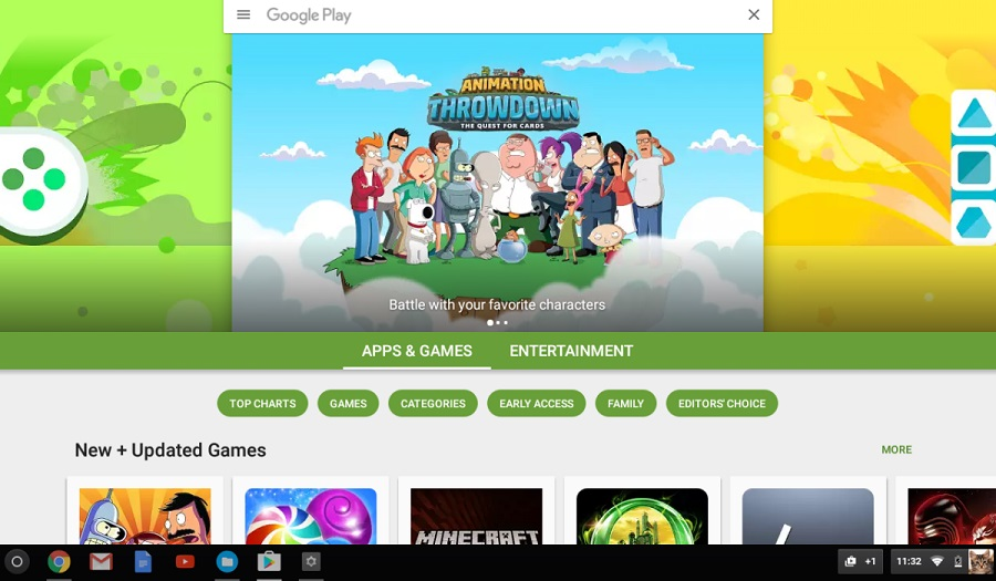 Google Play Store now available on stable channel of Chrome OS