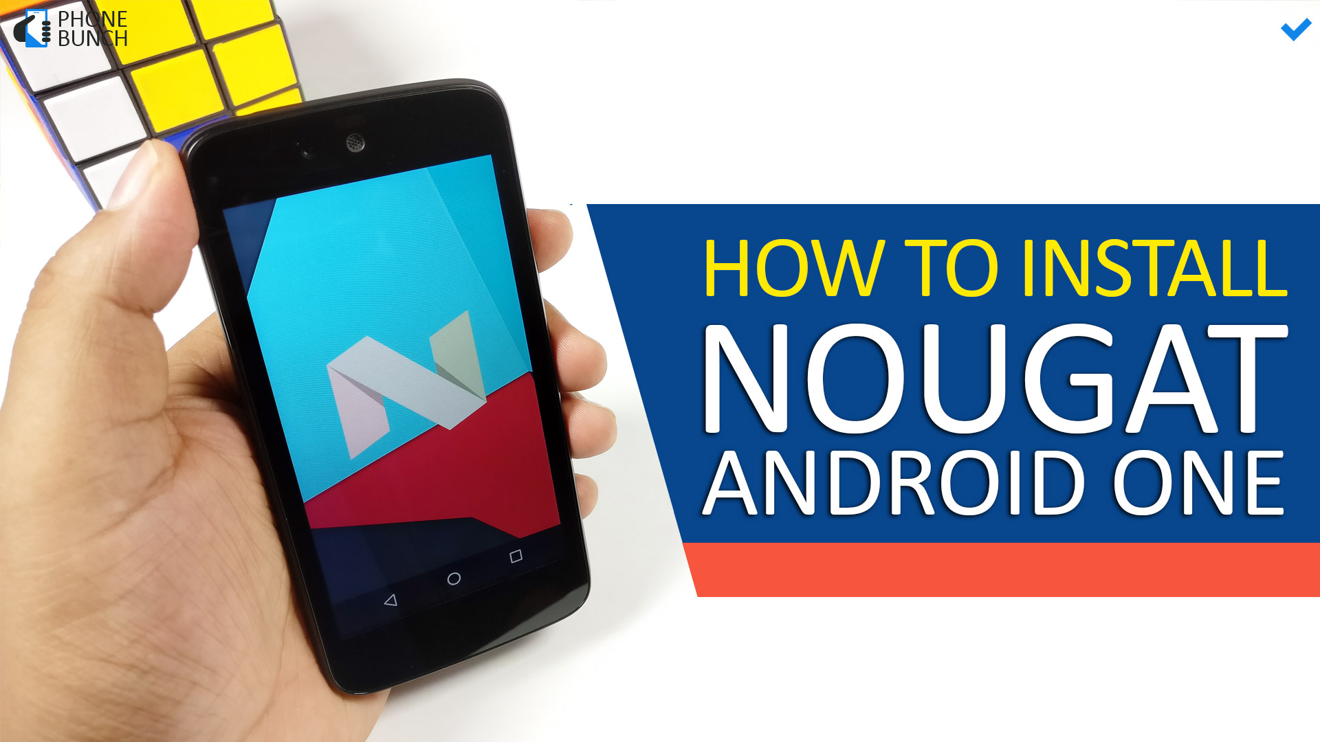 How to Install Android Nougat on your Android One Smartphone - Step