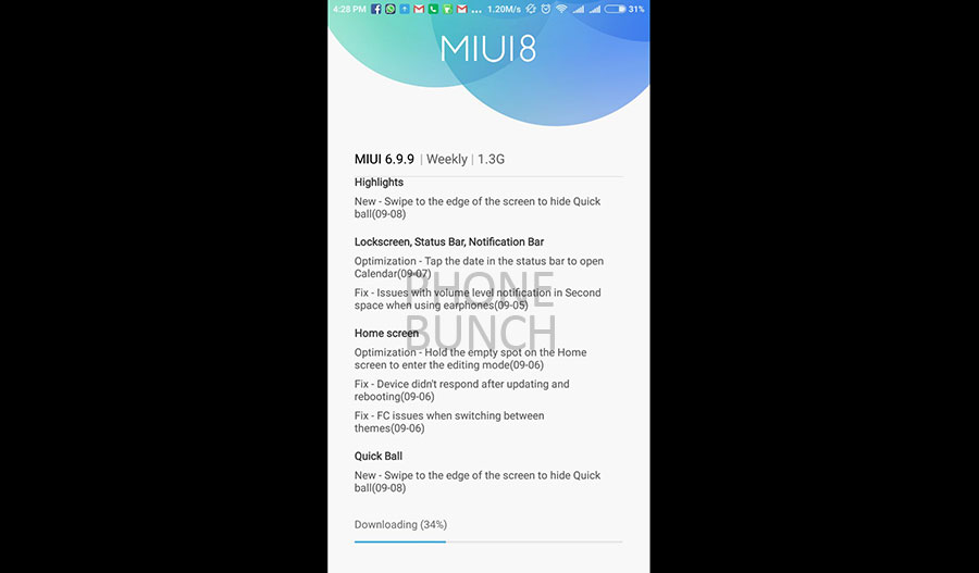Xiaomi Redmi Note 3 Gets Marshmallow Update With MIUI 8