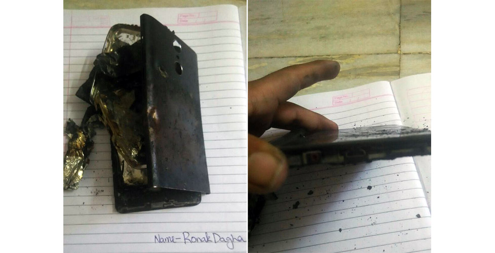 Xiaomi Redmi Note 4 Explodes Again This Time Too While