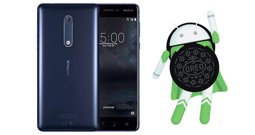 Nokia 5 Android Oreo update starts rolling out