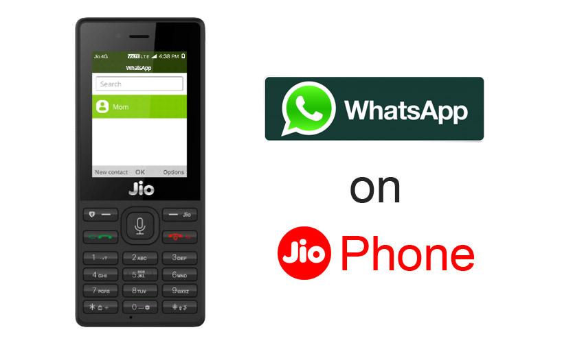 How to open jio phone whatsapp in pc
