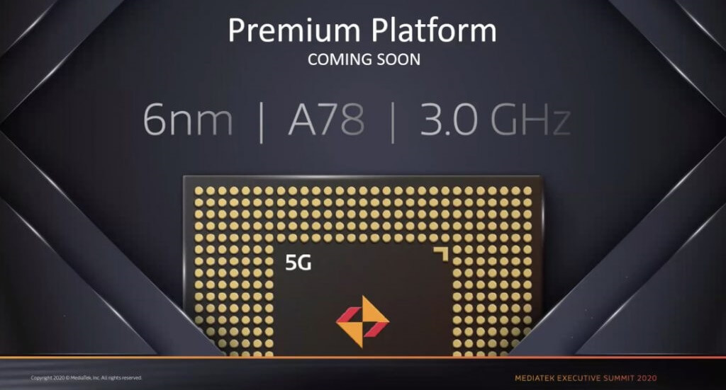 MediaTek MT6893 6nm 5G SoC AnTuTu Score surfaced, better than Snapdragon  865 SoC