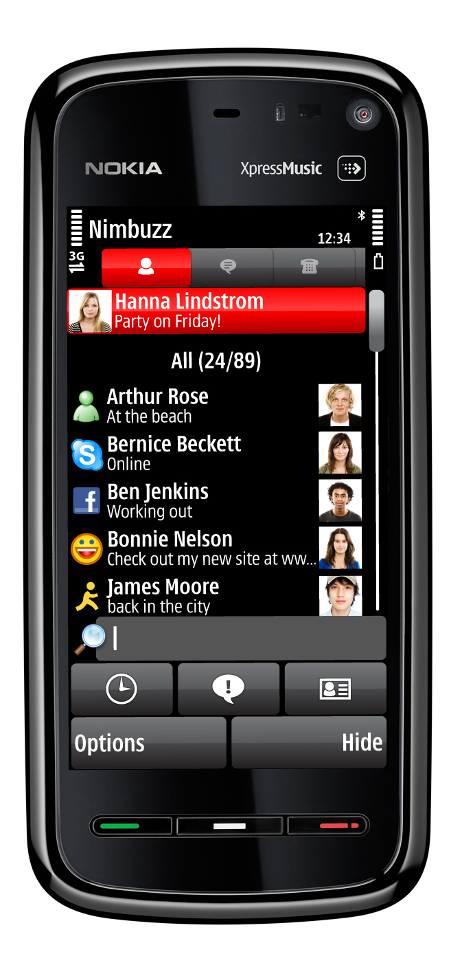 The gallery for --> Nokia Xpress Music Price