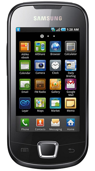 Samsung I5800 Galaxy 3 Images Official Photos