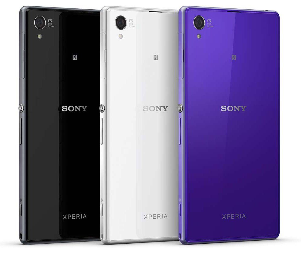 full specification of sony xperia z1 only two home