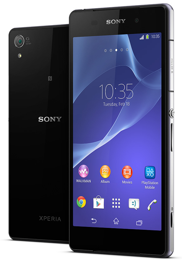 Sony Xperia Z2 - Full Phone Specifications, Comparison