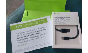 HTC is giving free Type-C cables and UH-OH protection to all those who pre-ordered the HTC 10