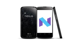 4-year Old Nexus 4 can run Android Nougat, while your shiny new phone won't