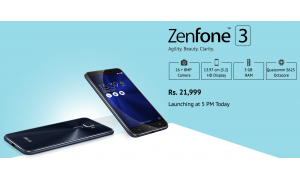 Asus Zenfone 3 Price Revealed by Snapdeal Ahead of Launch