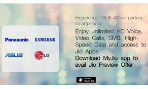 Jio 4G Preview with 90 days unlimited data now officially available for Asus and Panasonic smartphones