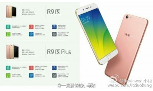 Oppo R9S and R9S Plus renders leak online, Snapdragon 653, 6GB RAM onboard