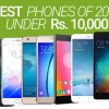 Best Smartphones between Rs. 8000 and Rs. 10000 (2016)
