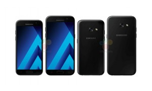 Samsung Galaxy A3 (2017) and Galaxy A5 (2017) press renders leaked, will be water-resistant