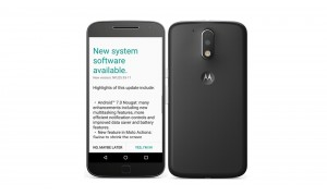 Official Android 7.0 Nougat OTA update now rolling out to Moto G4 and Moto G4 Plus in India