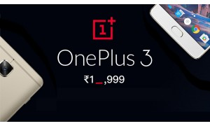 OnePlus 3 at just Rs. 19,999 and other great offers on the Flipkart Big Shopping Days