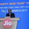 Reliance Jio 4G Happy New Year Offer extends free data, voice calls and messages to March 2017