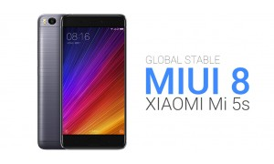 Download and Steps to Install Global Stable MIUI 8 ROM on Xiaomi Mi 5s