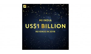 Xiaomi India has just hit $1 Billion revenue mark in 2016