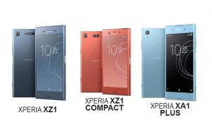 Sony Launches Xperia XZ1, XZ1 Compact, and XA1 Plus - Price and Features