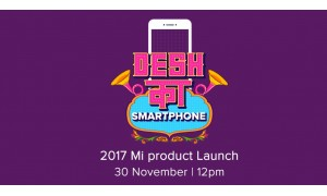 Xiaomi is launching it's