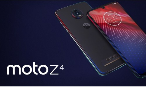 Motorola announces Moto Z4 with 6.4-inch FHD+ OLED display, 48MP camera and in-display fingerprint sensor with Mods.