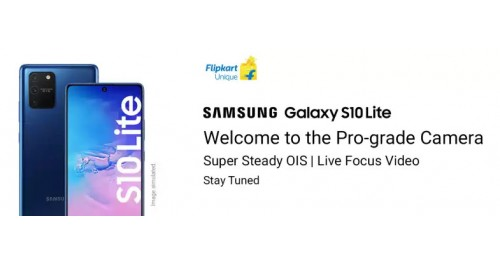Samsung launching Galaxy S10 Lite in India on January 23 on Flipkart with Snapdragon 855, Android 10.0 and Galaxy Note10 Lite coming soon.