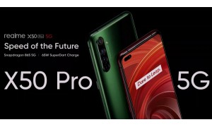 Realme Launched Realme X50 Pro 5G in India starting at Rs.37,999 with Snapdragon 865, up to 12GB RAM, 6.44-inch FHD+ 90Hz AMOLED display and Available today on Flipkart at 6 PM.
