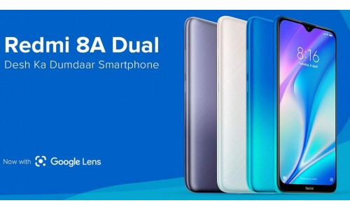Redmi launched Redmi 8A Dual in India starting at Rs. 6499 with 6.22-inch HD+ display, dual rear cameras, 5000mAh battery along with Redmi Power Banks