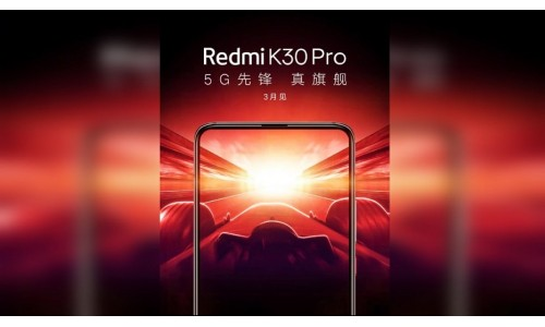 Xiaomi's Redmi brand Introduced Redmi K30 Pro in March 2020 with Snapdragon 865 SoC, Dual Pop-up Camera, Full View Display.