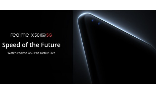Realme launch Realme X50 Pro 5G smartphone Online in Madrid on February 24 with Snapdragon 865 SoC, 12GB RAM, Android 10, along with Realme Smart TV