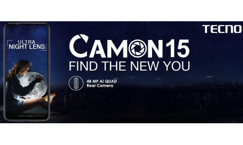 TECNO launched CAMON 15 and CAMON 15 Pro starting at Rs.9999 with Android 10, 48MP AI Quad camera, 32 MP Pop-Up AI selfie camera