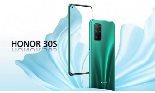 HONOR 30S launch in China with 6.5-inch FHD+ punch-hole display, Kirin 820 5G SoC, 64MP quad rear cameras along with Honor Play 9A