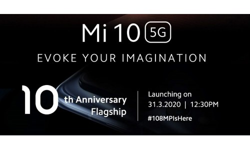 Xiaomi Mi 10 5G launching in India on March 31 with 6.67-inch FHD+ AMOLED 90Hz display, Snapdragon 865, 108MP Quad Rear Cameras