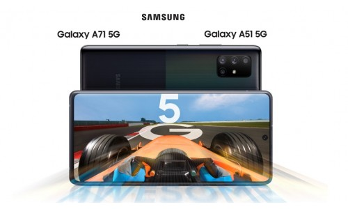 Samsung has announced Galaxy A51 5G and Galaxy A71 5G with FHD+ AMOLED Infinity-O Display, Exynos 980 SoC, Quad Rear Cameras, 32MP Punch-hole camera