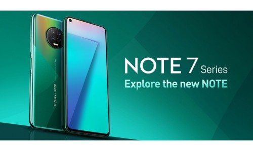 Infinix launched Note 7 series in India with Infinity-O display, quad rear cameras, Punch-hole front camera, 5000mAh battery