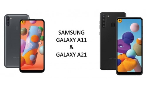 Samsung has announced Galaxy A11 And Galaxy A21  with HD+ Infinity-O display, Octa-Core SoC,4000mAh battery, 15W Fast Charger