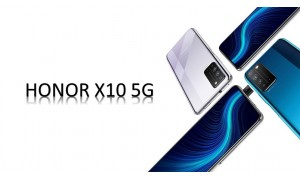 HONOR X10 announced with 6.63-inch FHD+ 90Hz display, Kirin 820 5G SoC, 40MP triple rear cameras
