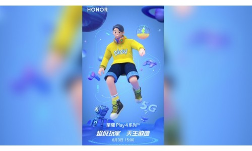 HONOR Play 4 5G and Play 4 Pro 5G to be announced on June 3 with 6.81-inch FHD+ display, Kirin 990 Soc
