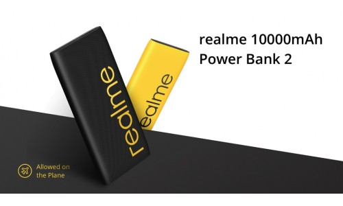 Realme 10000mAh Power Bank 2  launched in India at Rs.999 with two-way fast charging