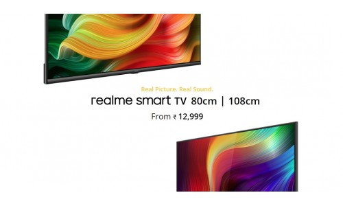 Realme Smart TV 43-inch and 32-inch launched in India starting at Rs. 12,999 with Android 9.0, 24W stereo Speaker