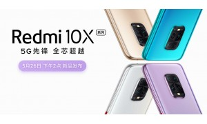Redmi 10X series launching on May 26 with Dimensity 820, dual SIM 5G, Quad rear cameras, OIS, 30x zoom