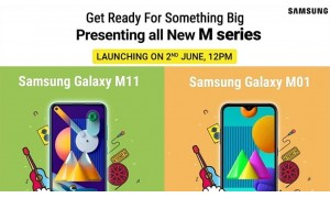 Samsung Galaxy M11 launching in India on June 2 with 6.4-inch Infinity-O display, 5000mAh battery alongside Galaxy M01